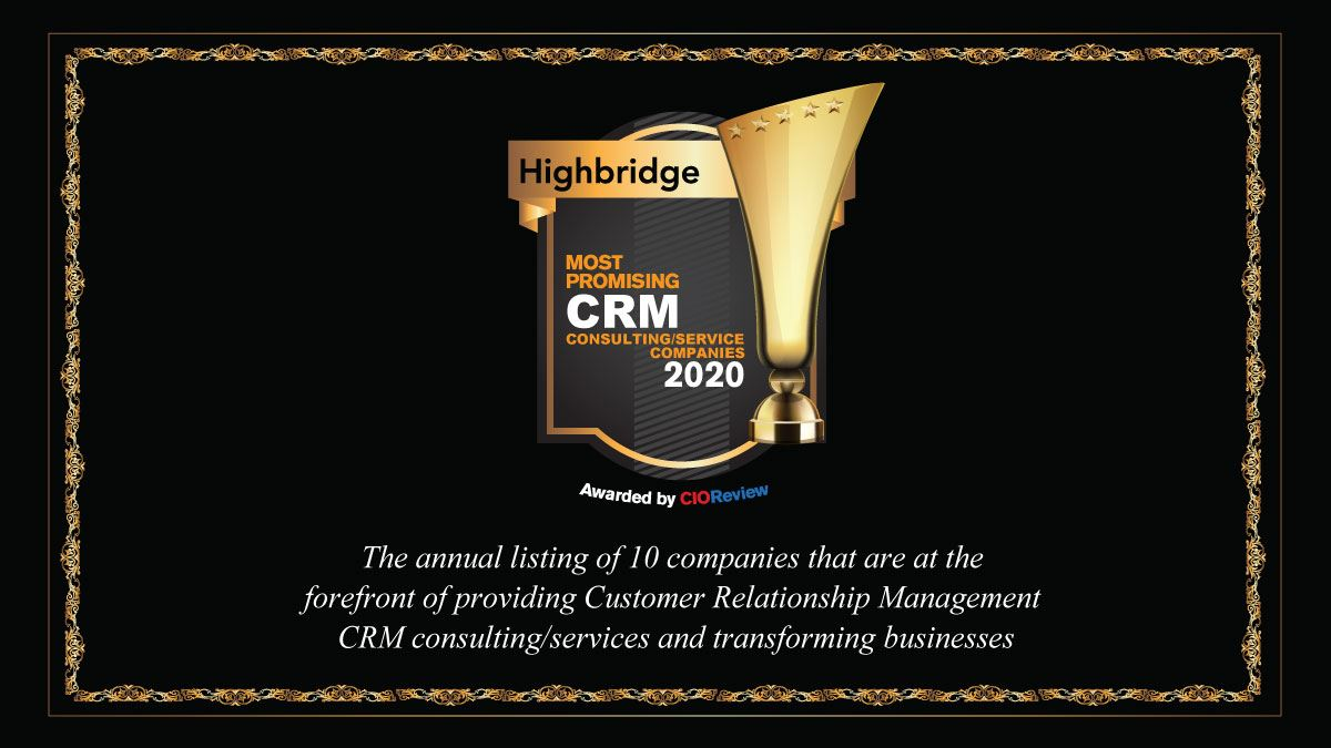 CRM Consulting Award